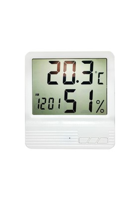 Weather Forecast Termometre Sıcaklık, Nem ölçer Saati thr140