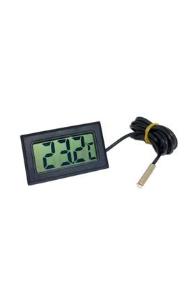 İç veya Dış Mekan Mini Dijital Termometre Sıcaklık Ölçer thr143