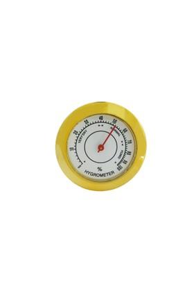 Hygrometer - Puro kutusu Saati - Nem ölçer Saat thr146