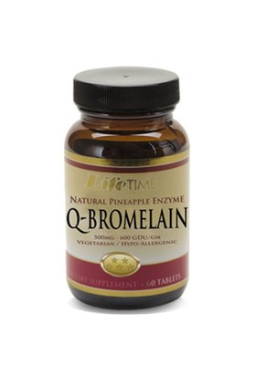 Lifetime Q-Bromelain 60 Tablet