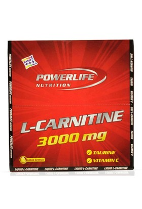 Powerlife L-Carnitine 3000 Mg 20 Ampül Limon