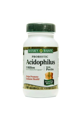 Nature'S Bounty Probiotic Acidophilus With Pectin 100 Kapsül