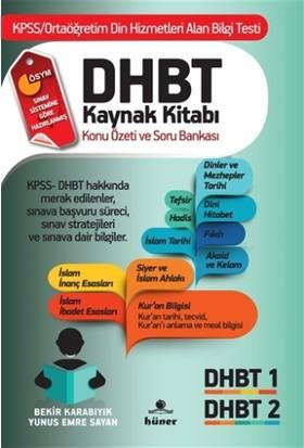 DHBT Kaynak Kitabı Konu Özeti ve Soru Bankası - Bekir Karabıyık