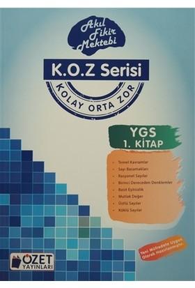 K.O.Z Serisi YGS Matematik 1. Kitap