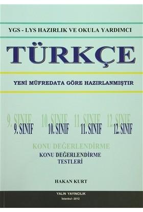 YGS - LYS Hazırlık ve Okula Yardımcı Türkçe 9. Sınıf 10. Sınıf 11. Sınıf 12. Sınıf Konu Değerlendirme Testleri