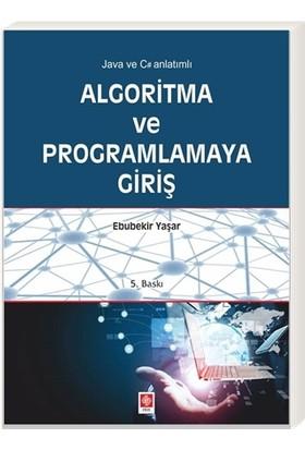 Algoritma ve Programlamaya Giriş - Ebubekir Yaşar