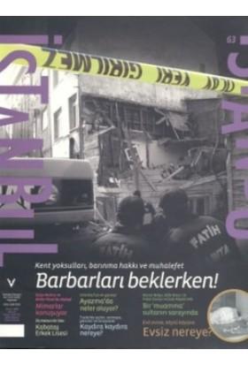 İstanbul Dergisi Sayı: 63 2008 Nisan