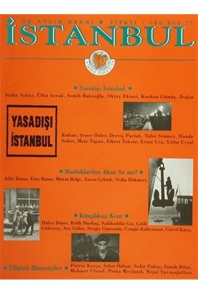 İstanbul Dergisi Sayı: 11 1994
