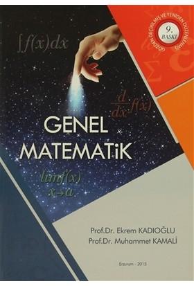 Genel Matematik - Ekrem Kadıoğlu