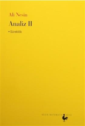 Analiz 2 - Ali Nesin
