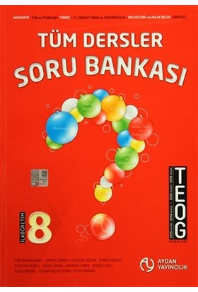 TEOG 8. Sınıf Tüm Dersler Soru Bankası - Ahmet Camus