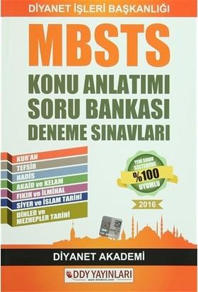 2016 MBSTS Konu Anlatımı Soru Bankası Deneme Sınavları