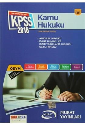 2016 KPSS A Grubu Kamu Hukuku Konu Anlatımlı