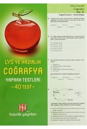 LYS'ye Hazırlık Coğrafya Yaprak Testeleri (40 Test)