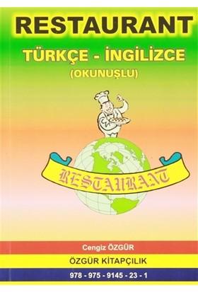 Restaurant Türkçe-İngilizce (Okunuşlu)