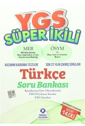 YGS Süper İkili Türkçe Soru Bankası