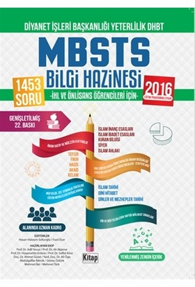 Diyanet İşleri Başkanlığı Yeterlilik DHBT - MBSTS Bilgi Hazi - Adil Yavuz