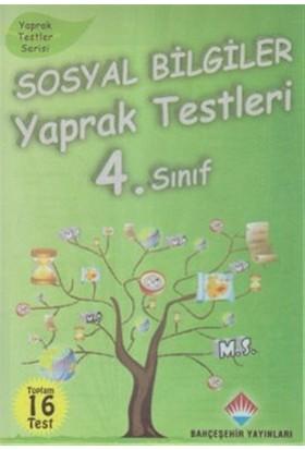 Sosyal Bilgiler Yaprak Testleri 4. Sınıf