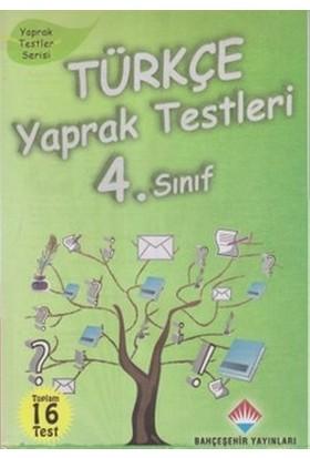 Türkçe Yaprak Testleri 4. Sınıf