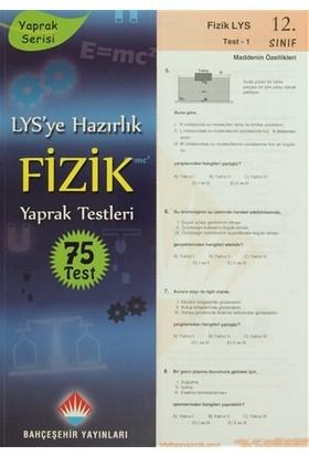 LYS'ye Hazırlık Fizik Yaprak Testleri 75 Test