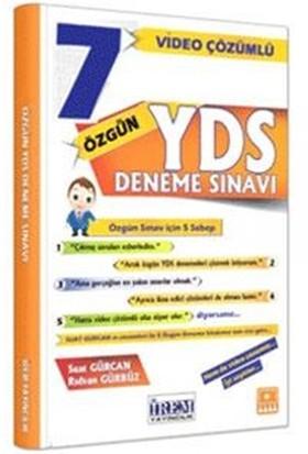 YDS Video Çözümlü 7 Özgün Deneme Sınavı - Rıdvan Gürbüz