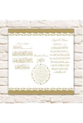 Cadran Home Dekoratif 30x30 MDF Tablo CHTT296