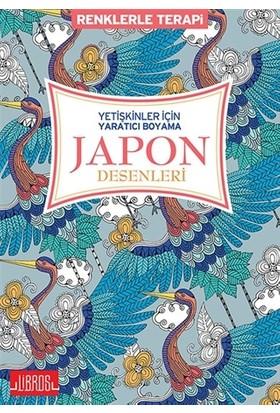 Yetişkinler için Yaratıcı Boyama Japon Desenleri