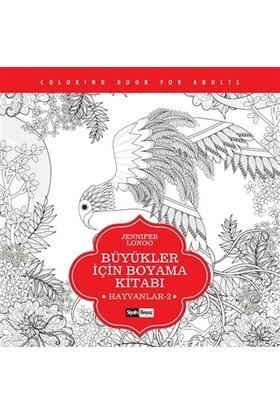 Büyükler için Boyama Kitabı - Hayvanlar 2 - Jennifer Longo