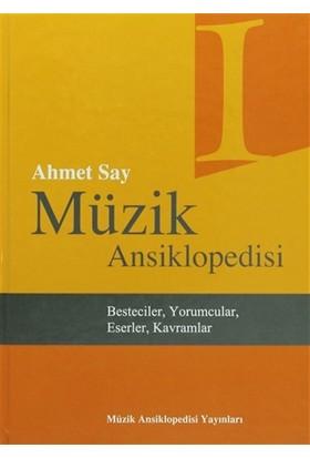 Müzik Ansiklopedisi (3 Cilt Takım) - Ahmet Say