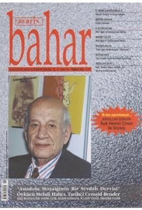Berfin Bahar Aylık Kültür, Sanat ve Edebiyat Dergisi Sayı : 101