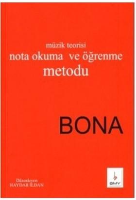 Temel Müzik Teorisi Nota Okuma ve Öğrenme Metodu Bona - Haydar İldan