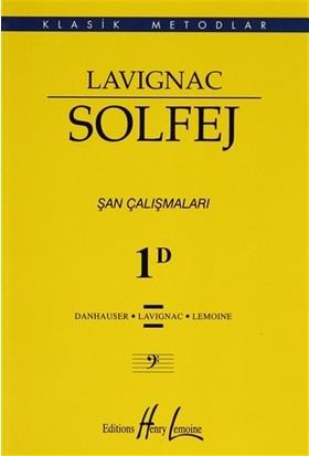 Lavignac Solfej 1D (Küçük Boy)