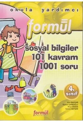 Formül 4. Sınıf Sosyal Bilgiler 101 Kavram 1001 Soru