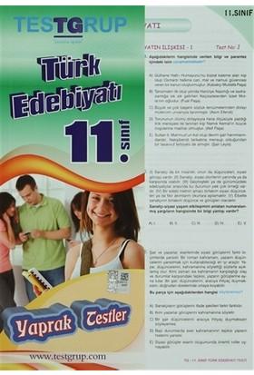 11. Sınıf Türk Edebiyatı Yaprak Testler