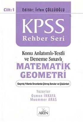 KPSS Rehber Seri - Matematik Geometri Cilt: 1 - Osman İnkaya