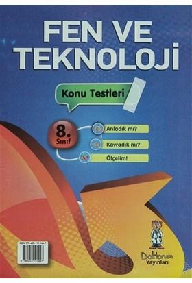 8. Sınıf Fen ve Teknoloji Konu Testleri