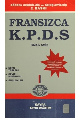 Fransızca Kpds - İsmail Emir