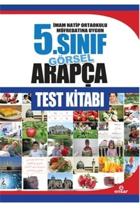 İmam Hatip Ortaokulu Müfredatın Uygun 5. Sınıf Görsel Arapça Test Kitabı - Abdullah Özer