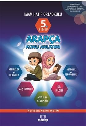 5. Sınıf İmam Hatip Ortaokulu Arapça Konu Anlatımlı