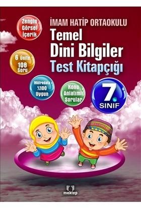 İmam Hatip Ortaokulu Temel Dini Bilgiler Test Kitapçığı 7. Sınıf