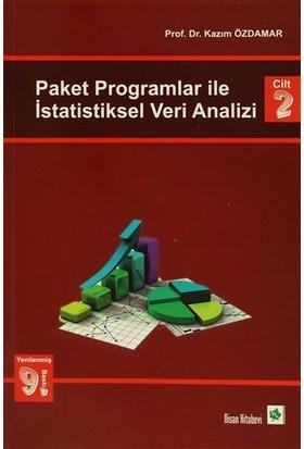 Paket Programlar ile İstatiksel Veri Analizi Cilt 2 - Kazım Özdamar