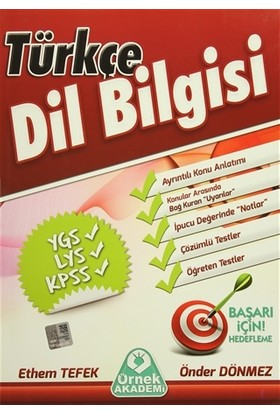 Türkçe Dil Bilgisi - Ethem Tefek