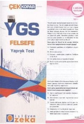 YGS Felsefe Yaprak Test