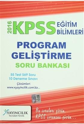 2016 KPSS Eğitim Bilimleri Program Geliştirme Soru Bankası