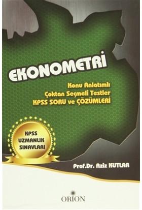 Ekonometri (KPSS Uzmanlık Sınavları) - Aziz Kutlar