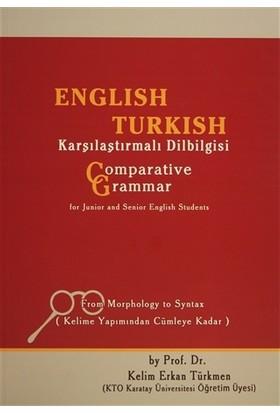 English Turkish Karşılaştırmalı Dilbilgisi