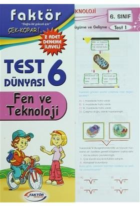 6. Sınıf Fen ve Teknolojisi Test Dünyası