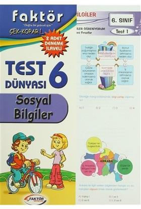 6. Sınıf Sosyal Bilgiler Test Dünyası