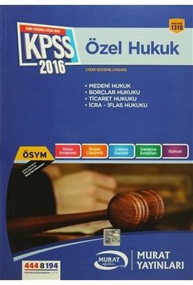 2016 KPSS A Grubu Özel Hukuk Konu Anlatımlı