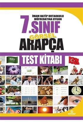İmam Hatip Ortaokulu Müfredatına Uygun 7.Sınıf Görsel Arapça Test Kitabı